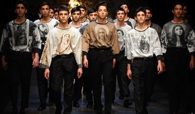 Dolce & Gabbana Otoño-Invierno 2013/2014: la era de los estampados ha vuelto