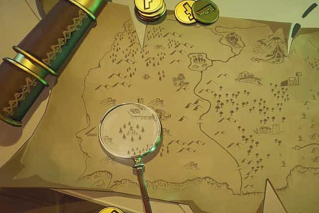 Desafío Fortnite Busca Donde Marca La Lupa En El Mapa Del