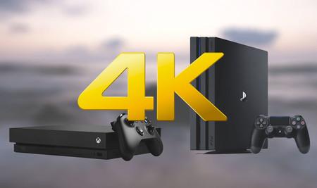 Xbox One X versus PS4 Pro: ¿qué consola ha salido con más juegos 4K desde el principio?
