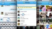 Windows Live Messenger se deja ver en algunas capturas