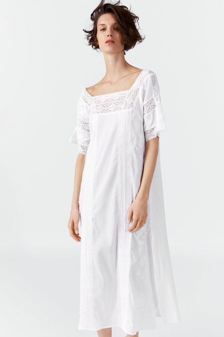 Zara Blanco Verano 2019 12