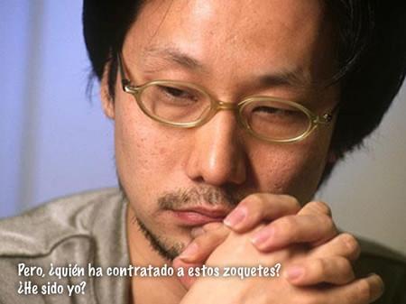 """""""La mayoría de las ideas... bueno, no vienen de mi equipo, son mías"""", Kojima haciendo amigos"""