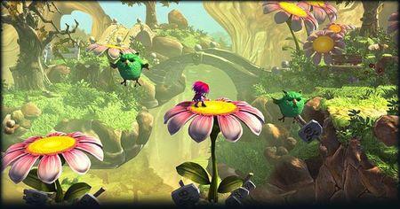 'The Great Giana Sisters', clon del mítico 'Super Mario Bros.', quiere resurgir con un aspecto muy mejorado en KickStarter
