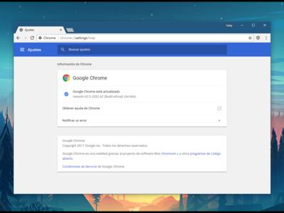 Ya disponible Chrome 62, con 35 actualizaciones de seguridad y un click para silenciar sitios web
