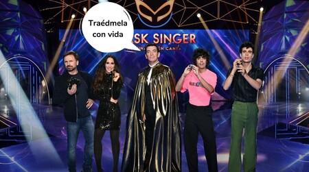 El error de Susana Uribarri que ha desvelado la identidad de los concursantes de 'Mask Singer'