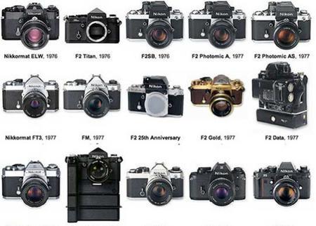 De la Nikon 1 a la D70s: la historia de esta compañía a través de sus cámaras