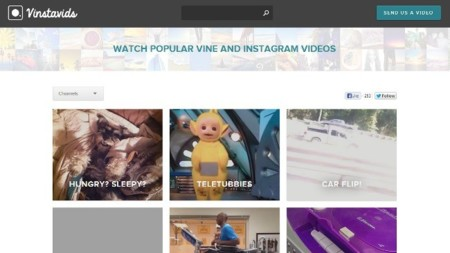 Vinstavids, vídeos de Vine y de Instagram