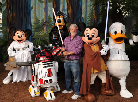 George Lucas At Disney World 235343105