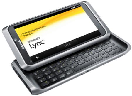 Lync en el Nokia E7
