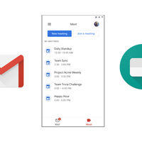 Gmail para Android comienza a activar la integración con Google Meet