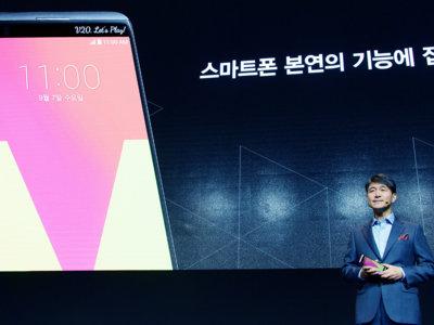 LG V20 es un teléfono especial que busca su sitio