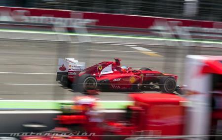 Viviendo la victoria de Fernando Alonso en Valencia