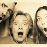 Justin Timberlake, Jessica Biel y Hillary Clinton, juntos en un fotomatón para la historia