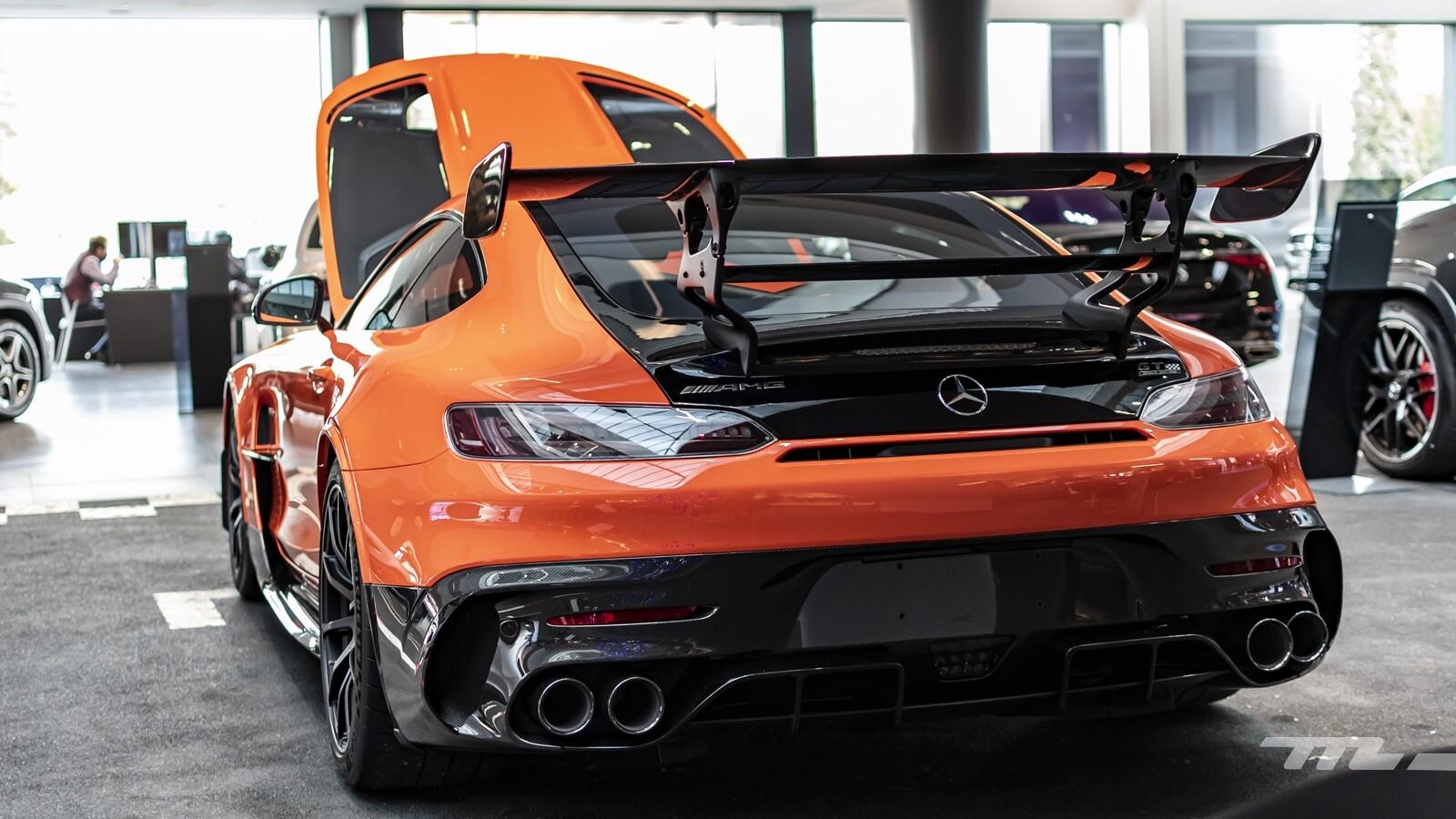 Foto de Mercedes-AMG GT Black Series 2020, contacto (1/30)