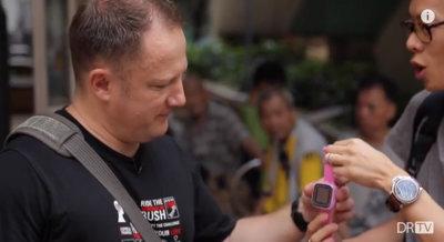 Fotografía callejera con un smartwatch, ¿en serio?