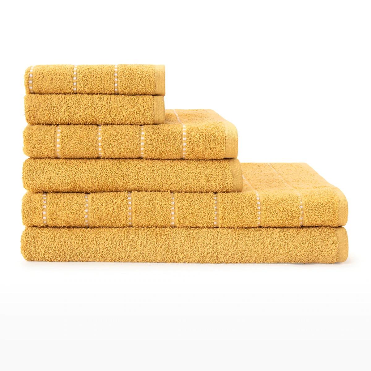 BASICS EL CORTE INGLÉS Juego 6 toallas algodón Ilia Basics El Corte Inglés
