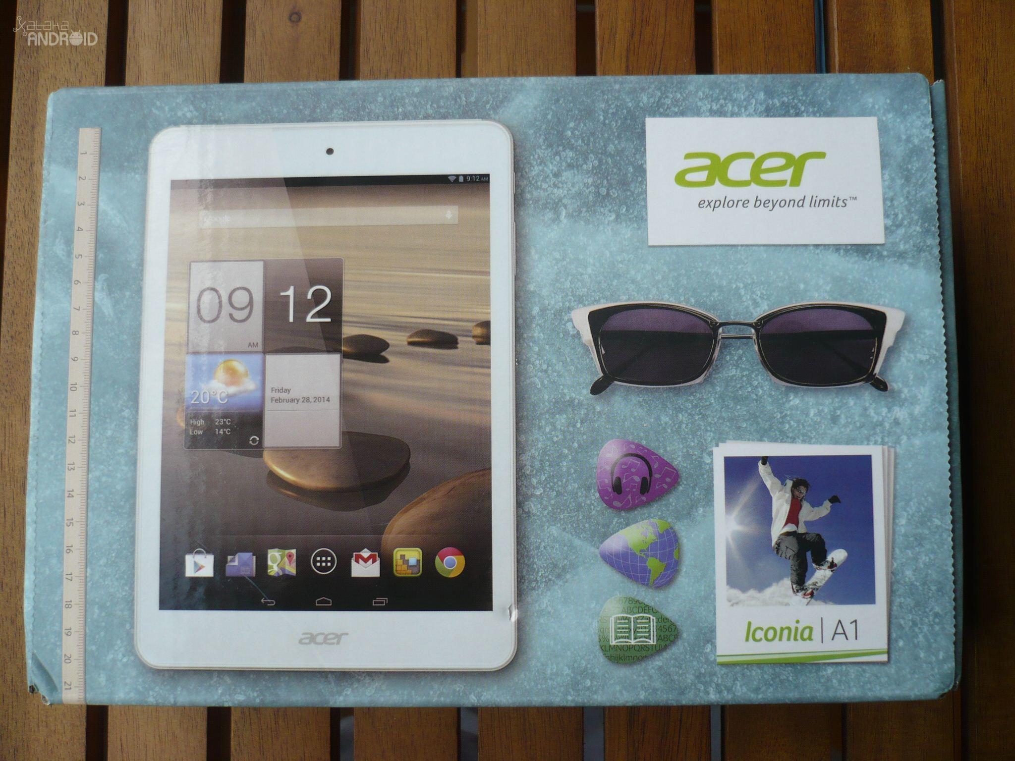 Foto de Acer Iconia A1-830 (1/16)