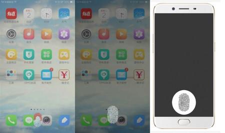 Oppo patenta un lector de huellas bajo la pantalla y lo pone a tiro de Vivo y OnePlus