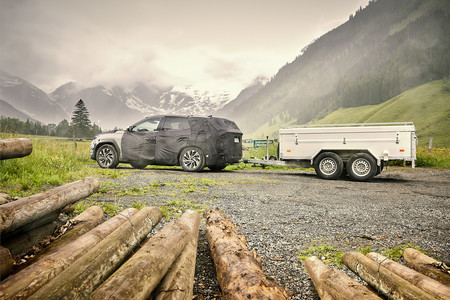All New Hyundai Tucson Trailer Testing 2