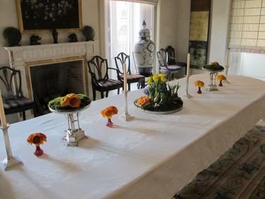El discreto encanto de las flores en porcelanas antiguas