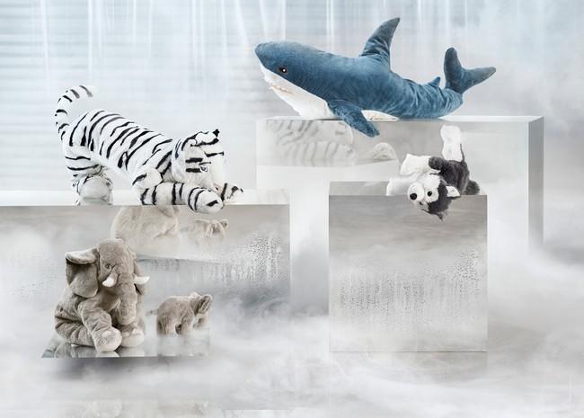 Ikea Novedades Octubre 2017 Ikea Novedades Octubre 2017 Ph146876 Onskad Peluche Tigre Blanco Blahaj Tiburon Leddjur Elefante Livlig Husky Siberiano Lowres