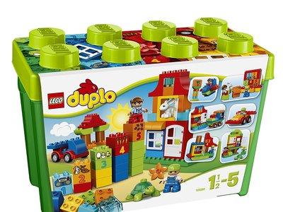 Los peques se lo pasarán pipa con esta caja divertida Deluxe de Lego Duplo. Ahora cuesta 37,65€ en Amazon