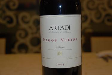 Artadi Pagos Viejos 2004