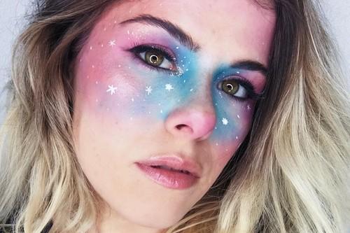 El maquillaje espacial va un paso más allá: así sera el look (literalmente) estelar de este Halloween 2018