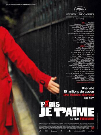 'Paris, je t'aime' se estrenará en San Valentín