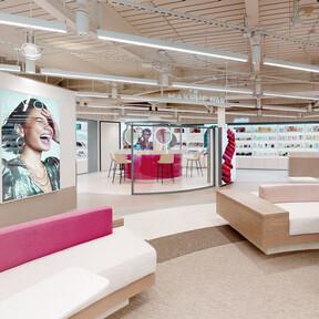 Avon se atreve con su primera tienda física en Los Ángeles, un espacio inmersivo donde expone sus novedades en maquillaje, cuidado y fragancias