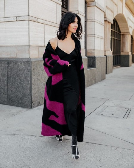 Vestido Lencero Negro 16