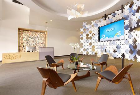Espacios para trabajar: las oficinas de Skype en Palo Alto