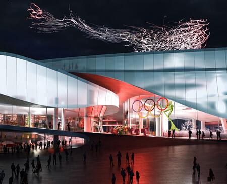 Museo de los Juegos Olímpicos de Invierno de Pekín 2022 en Chungli.