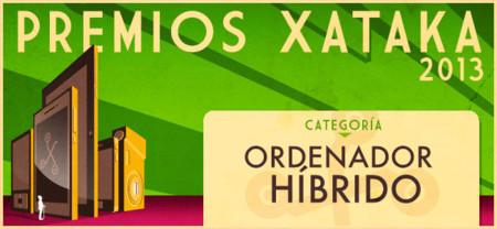 Mejor ordenador híbrido, vota en los Premios Xataka 2013