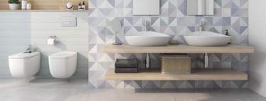 Una buena idea: colores pastel para dar un aire renovado al cuarto de baño
