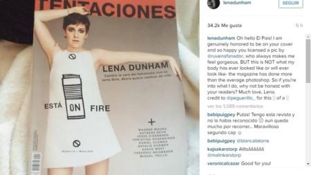 Lena Dunham y Tentaciones: cómo revistas y celebridades luchan contra el abuso del Photoshop