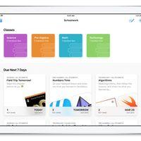 Apple lanza oficialmente la aplicación Schoolwork para iOS