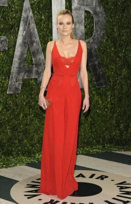 Diane Kruger en la fiesta de Vanity Fair