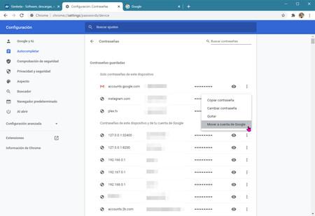 Chrome Google Passwords