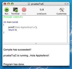 TryC: Para aprender C fácilmente desde tu Mac