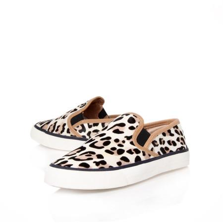 Zapatillas leopardo Celine clon sneakers slip ons Kurt Geiger