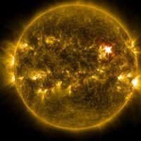 Éste es el vídeo de la mayor erupción solar en 12 años en detalle