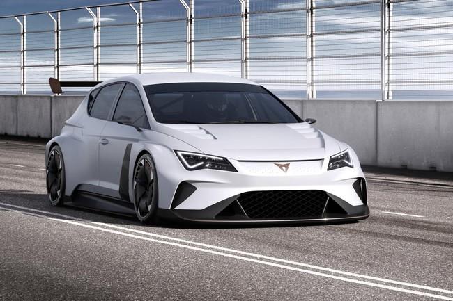 CUPRA e-Racer, hasta 670 CV para el primer coche eléctrico de la división de carreras de SEAT