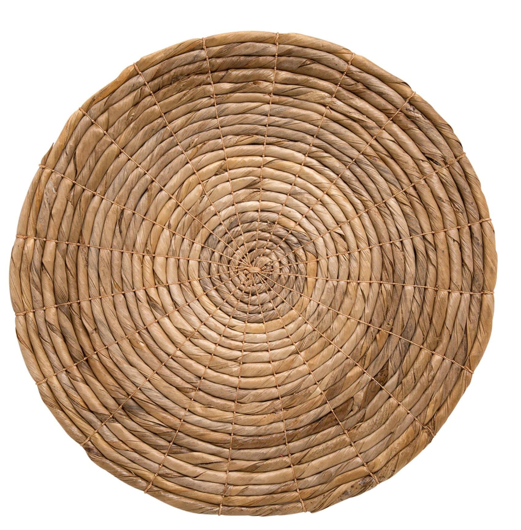 Mantel individual redondo de fibra natural Anaris El Corte Inglés