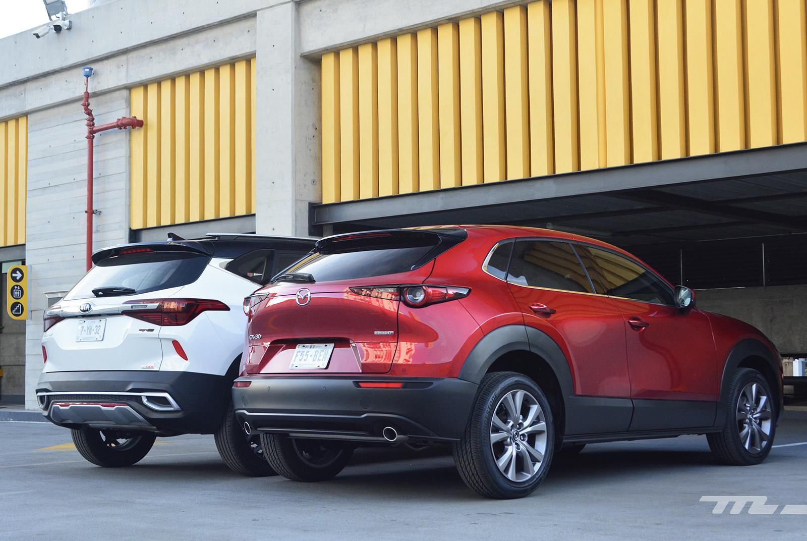 Foto de KIA Seltos vs. Mazda CX-30 (comparativa) (9/32)