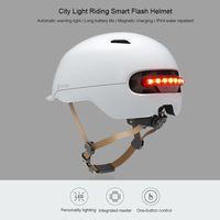 Ideal para patinetes: casco Xiaomi Smart4U, con iluminación LED trasera, por sólo 30 euros