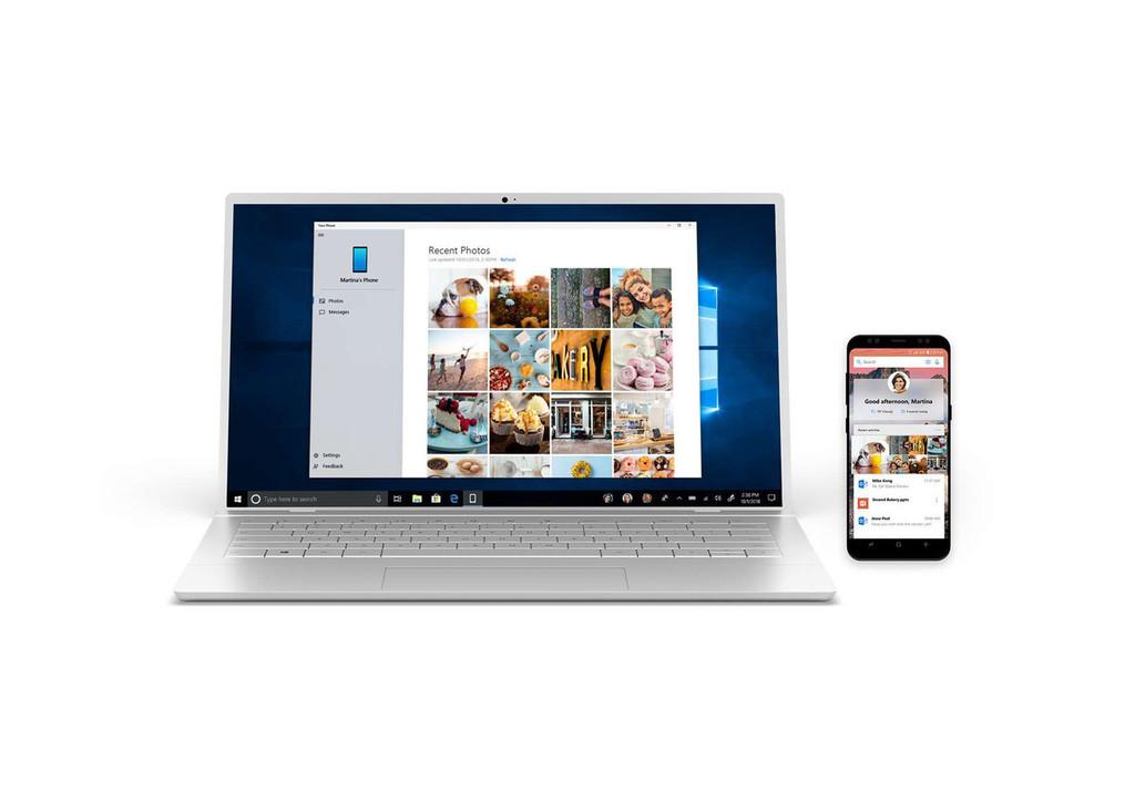 Microsoft entrega en Your Phone Companion un nuevo diseño: ahora los iconos tienen un aspecto más actual