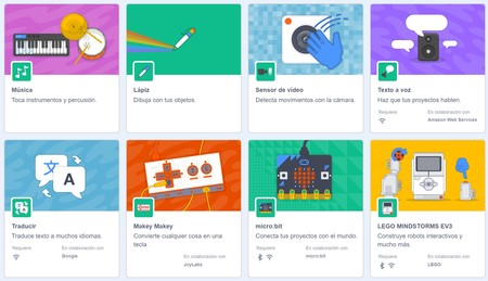 Extensiones De Scratch