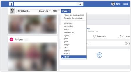 Fecha Cuenta Facebook Perfil