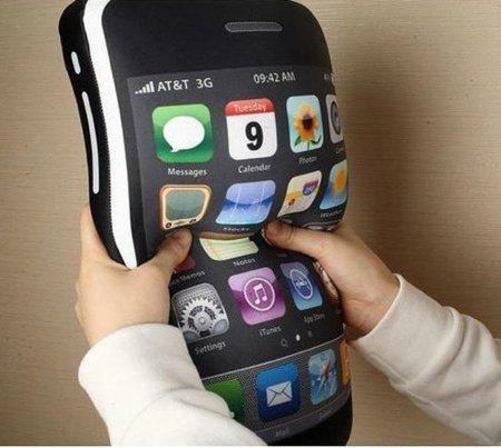 iCushion, el iPhone convertido en cojín antiestrés